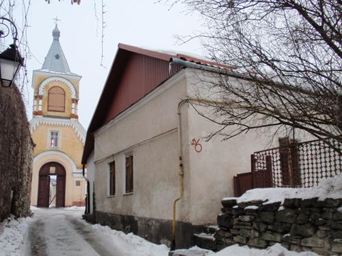 Будинок, де розміщувався вірменський шпиталь (Миколаївський провулок, 6). Сучасне фото
