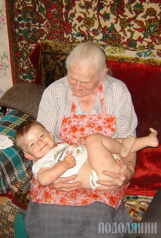 Із правнуком Ярославом