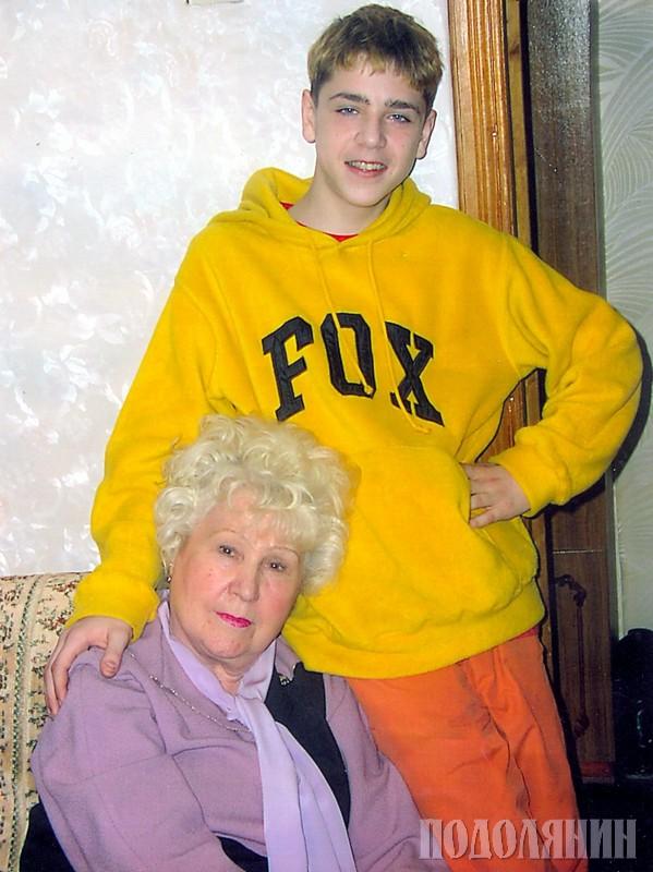 Мама Віра Василівна, син Петро