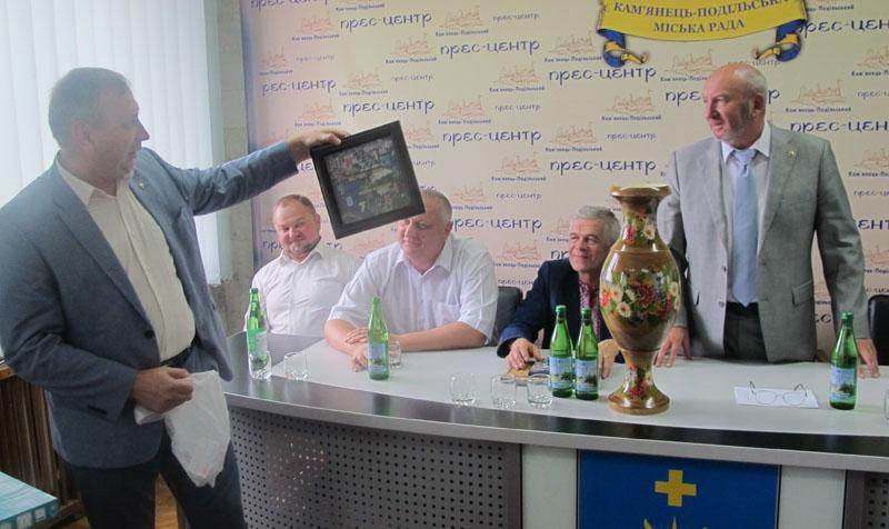 Кам'янець-Подільський приймав делегації з Тернопільської, Чернівецької та Полтавської областей.