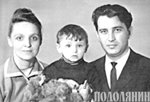 З мамою і татом. 1965 р.