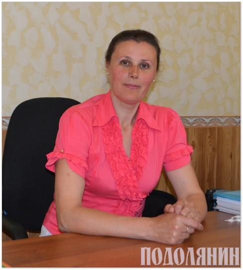 Сільський голова Лідія Богонос