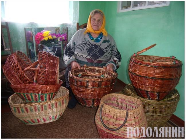 Місцева майстриня Зінаїда Поліховська