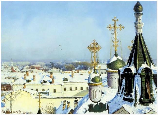 Сергій Світославський. З вікна Московського училища живопису, скульптури та архітектури