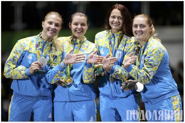 Зліва направо: Ольга Харлан, Аліна Комащук, Олена Кравацька, Олена Вороніна