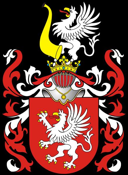 Майбутній генерал належав до шляхетського роду герба «Гриф».
