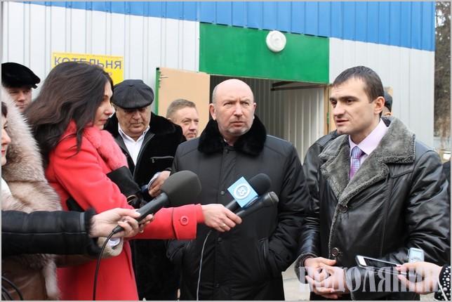 Кам'янець першим в Україні почав позбуватися газової залежності,  відкривши 5 грудня котельню на солом'яних пелетах