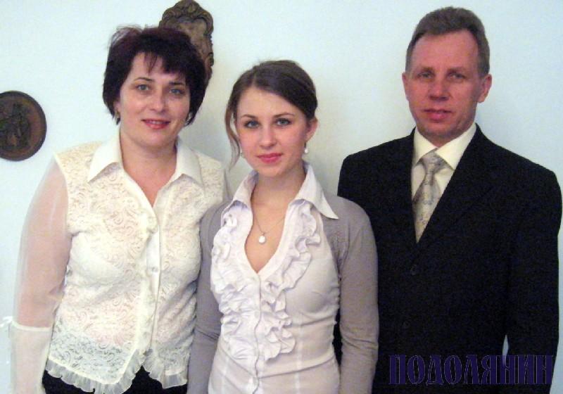 Володимир ВОЙЦИК з родиною