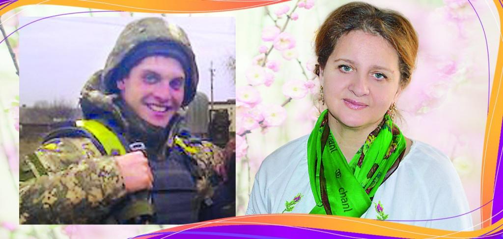 Надійним тилом для командира саперної роти Дениса Закієва стала його мама Лариса