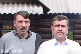 Олег Будзей, Віталій Бабляк. 2005 р.