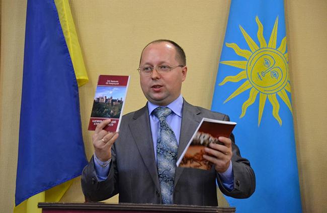 Голова міської організації НСКУ  Олександр Комарніцький, 2011 рік. Фото Лілії Петрук