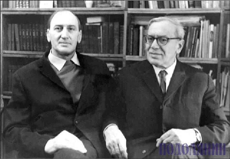 Брати Володимир і Юрій КАРПОВИ, 1970-рр.