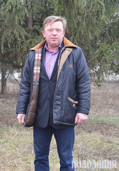 Староста Дмитро ХМЕЛЮК