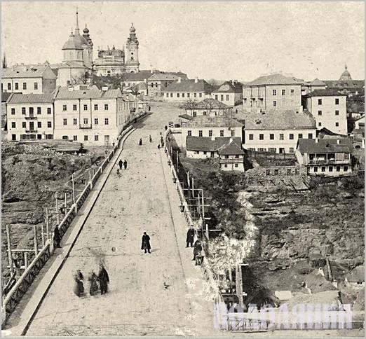 Новопланівський міст і Старе місто