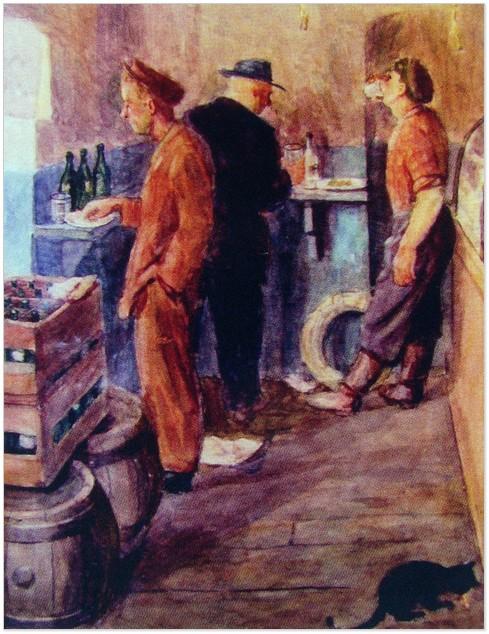 «Забігайлівка». Картина Аркадія Данилюка