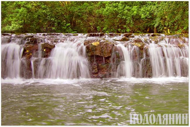 Фото княжпільського водоспаду від Олега Шмігеля