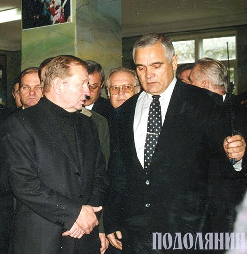 Iз президентом України Леонідом Кучмою