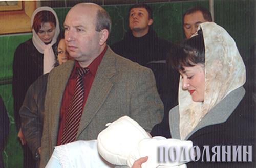 Олексія Мельниченка хрестив Михайло Сімашкевич
