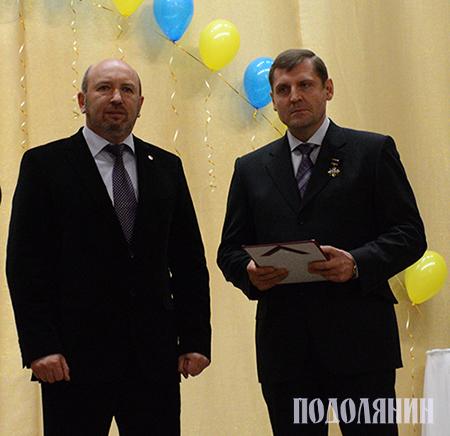 Михайло СІМАШКЕВИЧ та Дмитро САВЕНКО