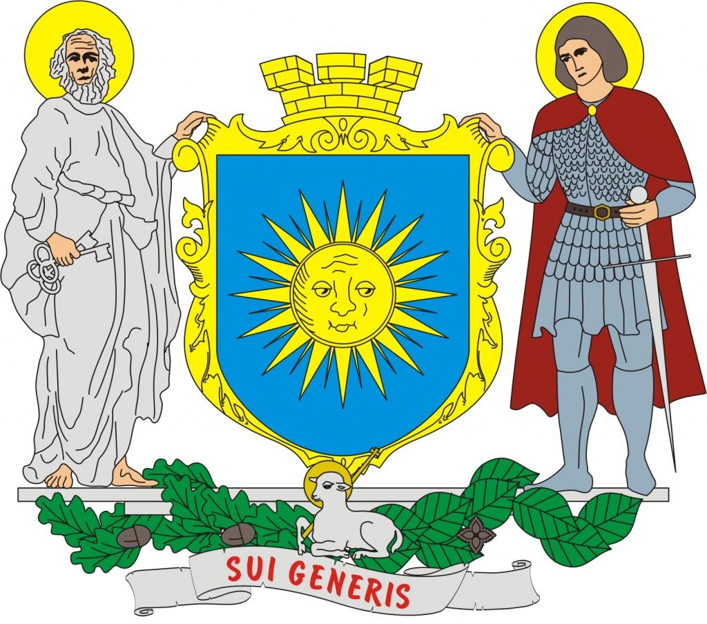 Проект великого герба міста Валерія НАПИТКІНА