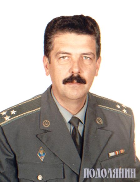 Начальник ліцею - полковник Олександр РОЩУК