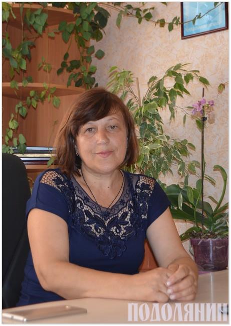 Сільський голова Ірина Павлюк