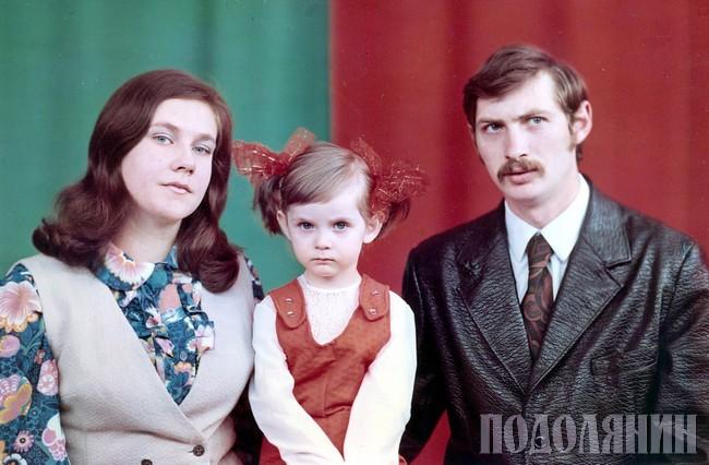 1978 р. З дочкою Олею