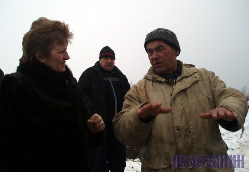 На місці подій - в.о. голови РДА Ніна ФАБІЯНСЬКА