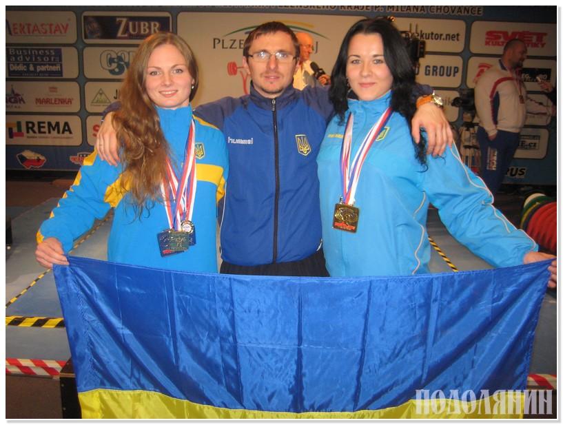 На фото зліва направо: Тетяна АХМАМЄТЄВА, Вадим ВОРОНЕЦЬКИЙ та Олена КОЗЛОВА.