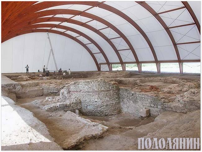 Довготривале захисне накриття об'єкта  археології в Одесі