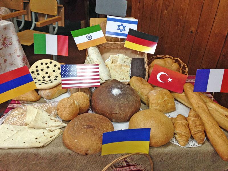 Хліб народів світу