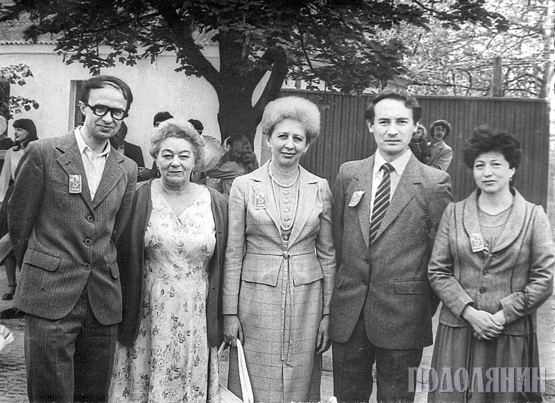 Зоя МАСЛОВА. 80-ті роки. Викладачі історичного факультету