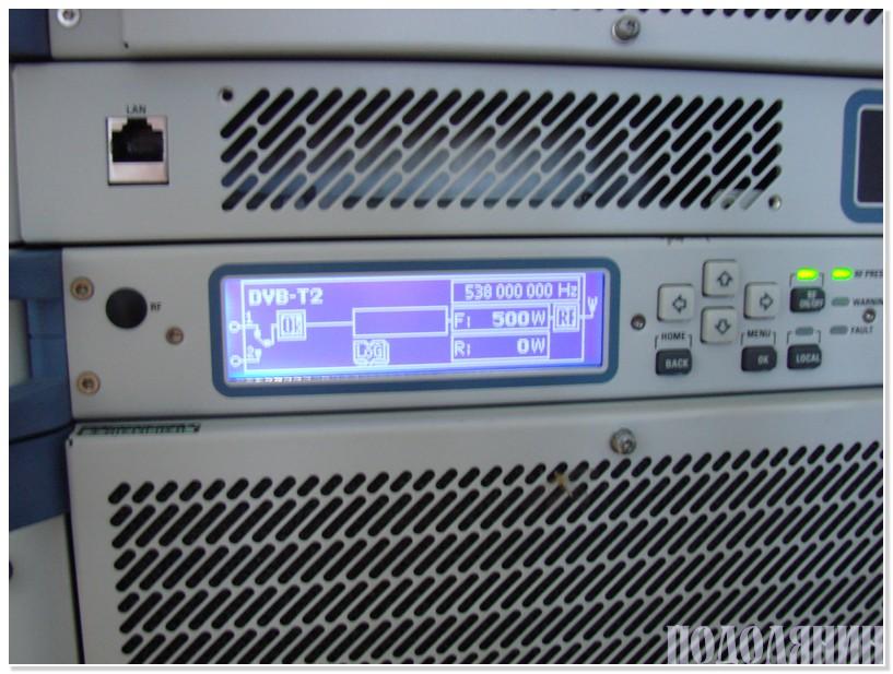 Фрагмент обладнання Кульчієвецького ретранслятора