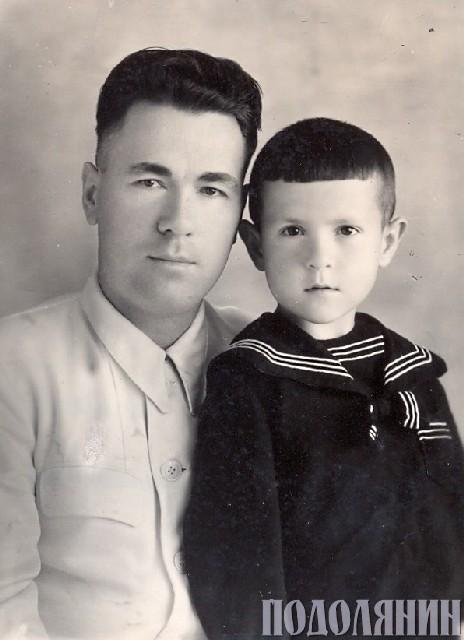Віталій БАБЛЯК. З батьком