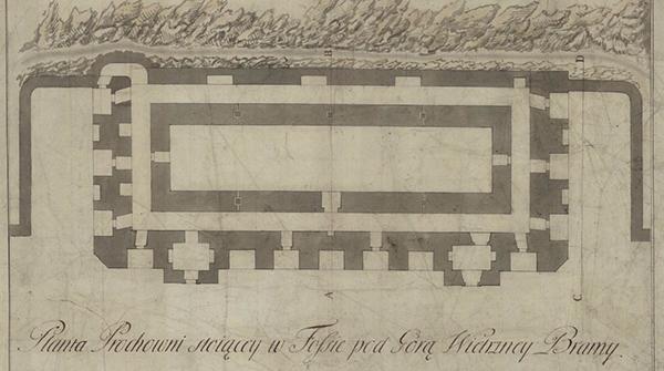 Польський план порохівні 1792 року