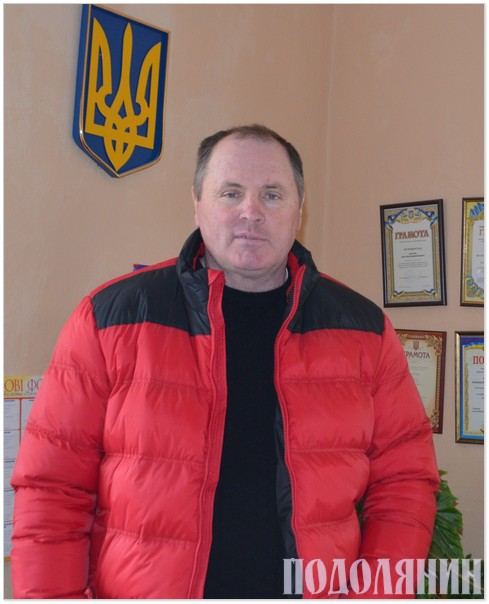 Сільський голова Анатолій КОСТЮК