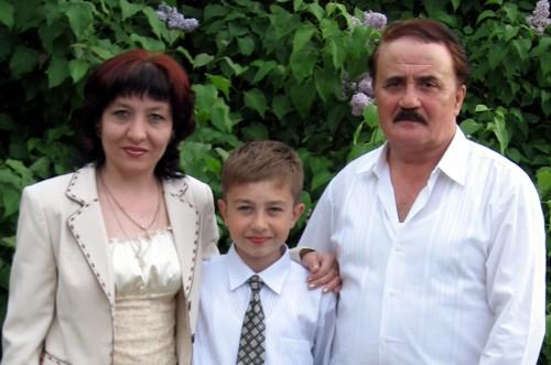 Борис ТКАЧУК: Батько, син, дружина