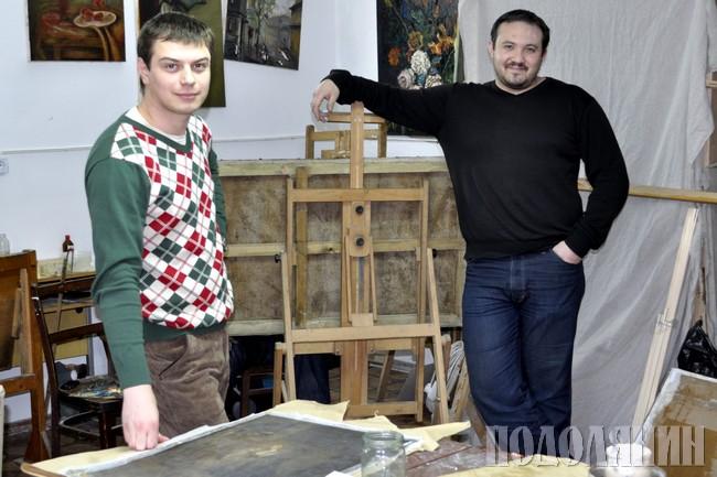 Олександр ВІШТАЧЕНКО  і Тимур ТАКІРОВ