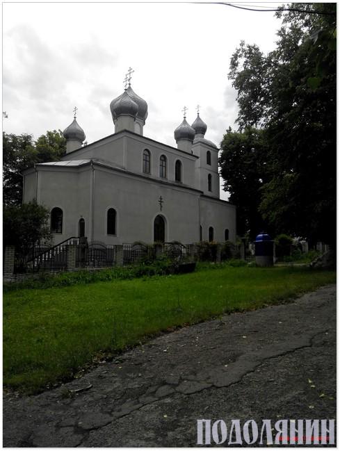 Місцева церква побудована  за кошти громади