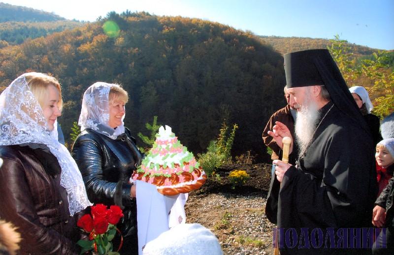 Освячення каплички в с.Врублівці