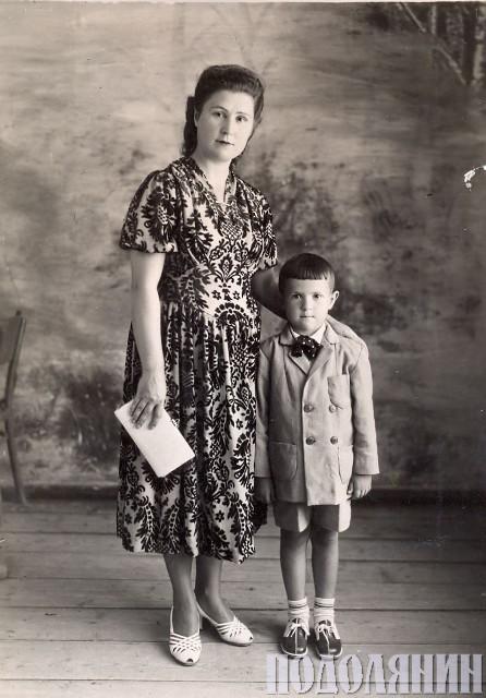 Віталій БАБЛЯК. З мамою
