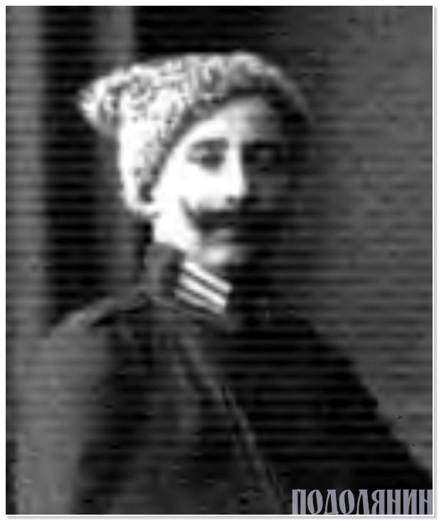 Олександр ВИШНІВСЬКИЙ, 1920 р.
