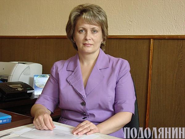 Голова Кам'янець-Подільського міськрайонного суду Ольга ТАЛАЛАЙ