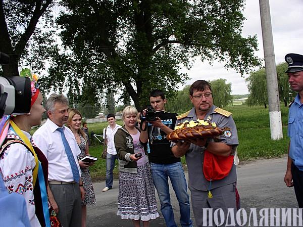 Анатолій НЕСТЕРУК зустрів козаків