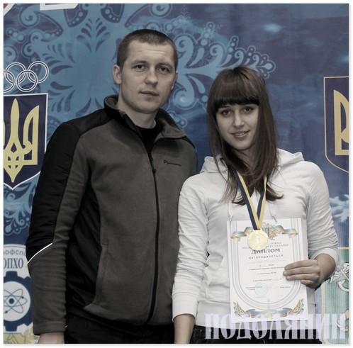 Анатолій Тимчук і його найкраща вихованка Анна Горгулько