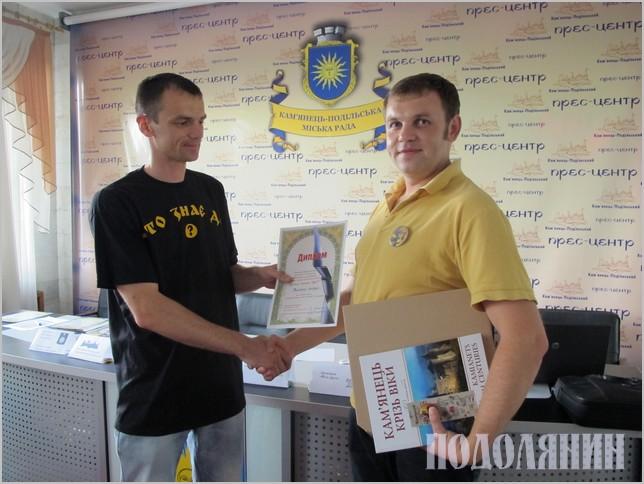 Переможець Андрій Тилячий
