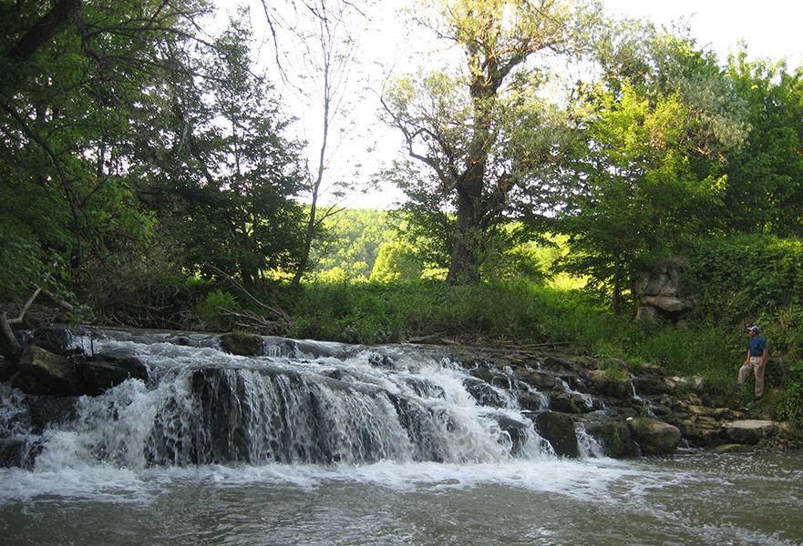 Річка Тернава біля села Гута-Блищанівська