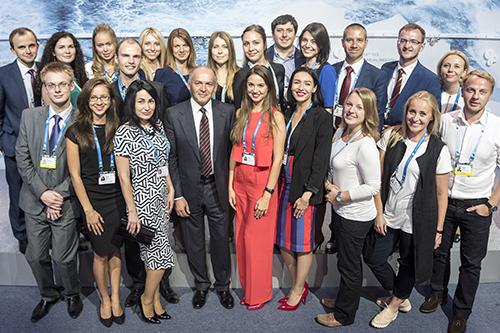 Учасники молодіжної платформи з Віктором Пінчуком