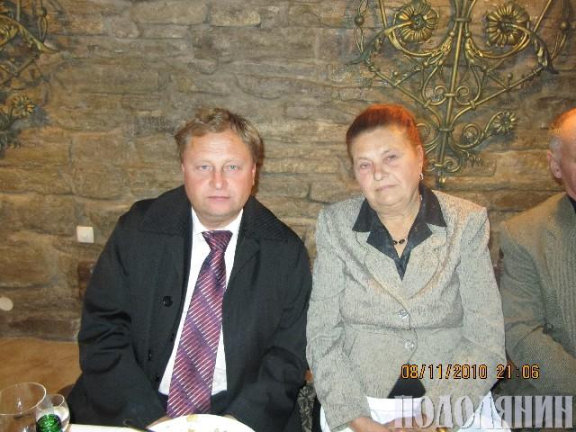 Олександр БОРШУЛЯК. З матусею