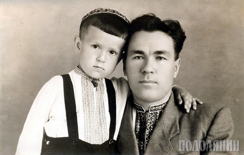 З батьком Петром Павловичем